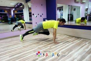 Табата в спортно студио Камато