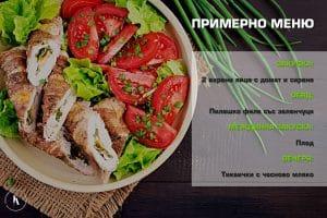 режимно меню на Ирина Атанасова